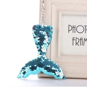 Accessories - Sequins mermaid tail keychain